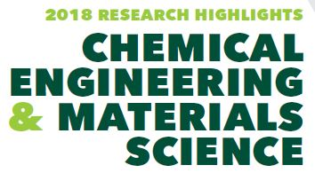 "Graphic MSU ""Chemical Engineering & Materials Science Research Highlights"""